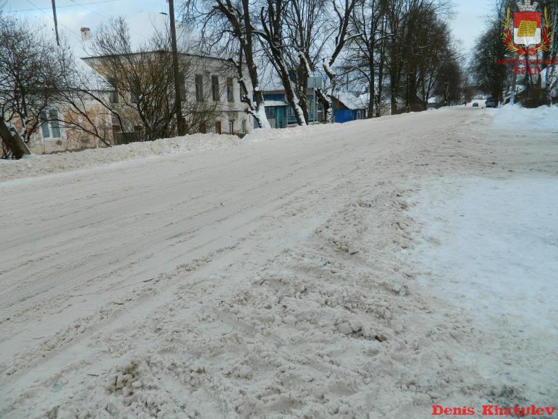Ул. Карла Маркса, одна из самых протяженных и важных улиц города