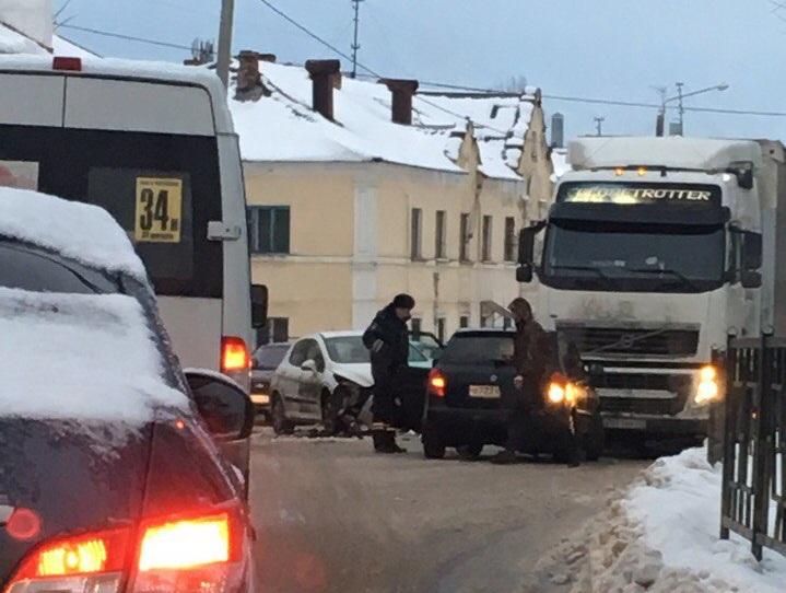 Массовая авария на витебском шоссе в Смоленске