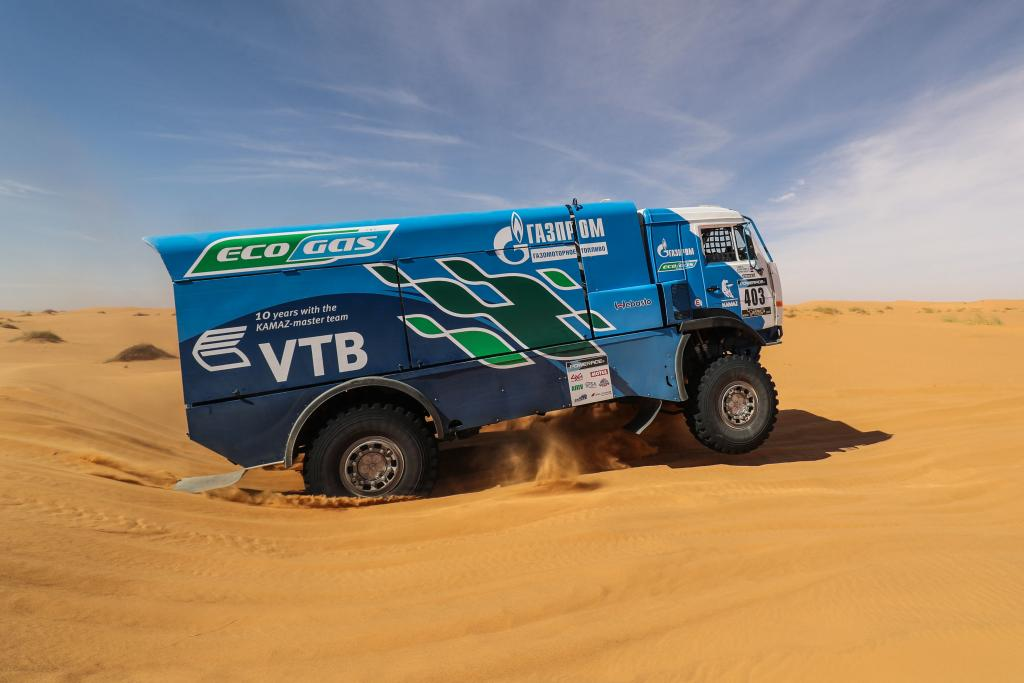 403 KUPRIANOV Sergey KUPRIANOV Alexander TANIN Anatoly KAMAZ Action during the Africa Race 2017 from Monaco to Dakar, December 31 to January 14th, Africa - Photo Jorge Cunha / DPPI