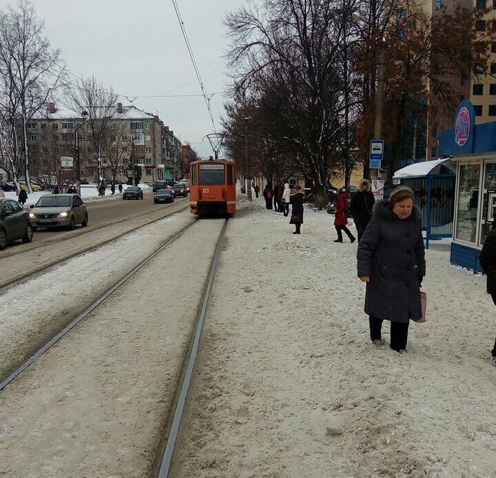 В Смоленске не убирают снег