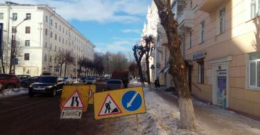 в Смоленске обрезают деревья