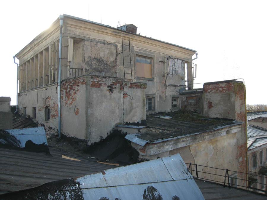 Крыша до реставрации