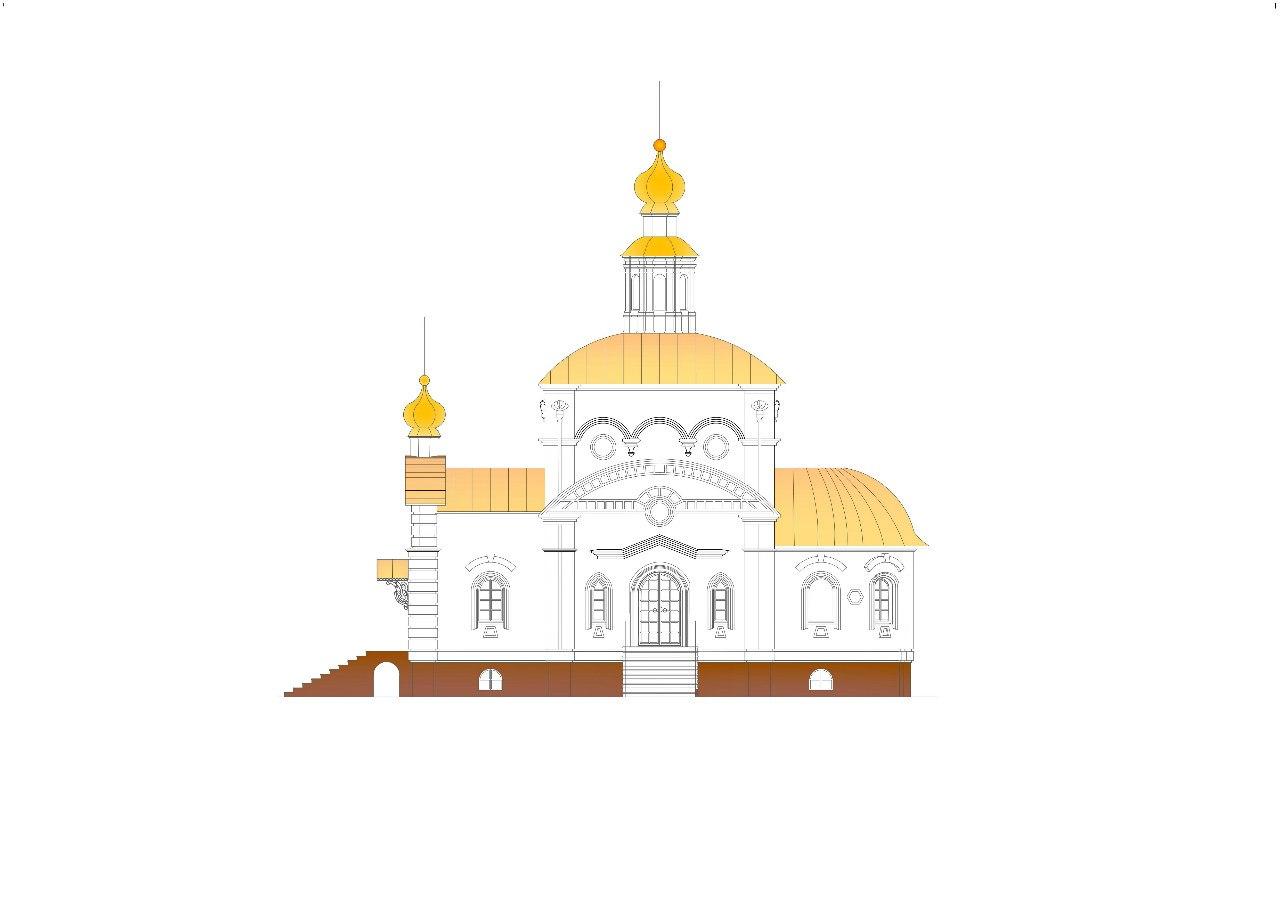 Проект храма на ул. Зои Космодемьянской