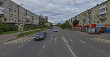 пешеходный переход улица Шевченко