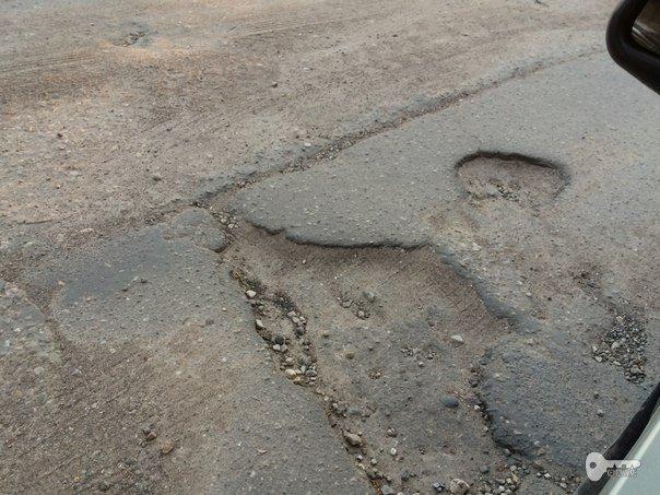дорога в Красном бору