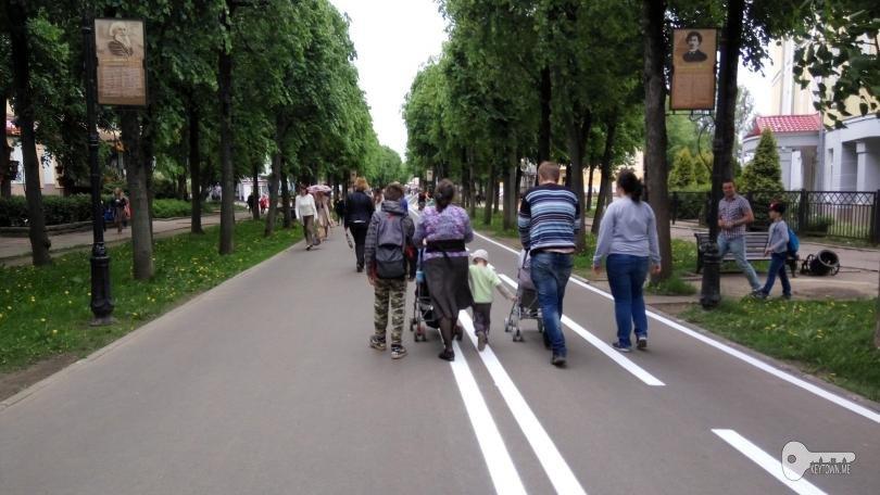 ВСмоленске продлят велодорожку поОктябрьской революции доулицы Кирова