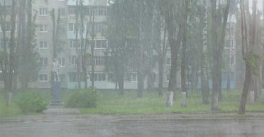 снег в Ярцево в июне 2017