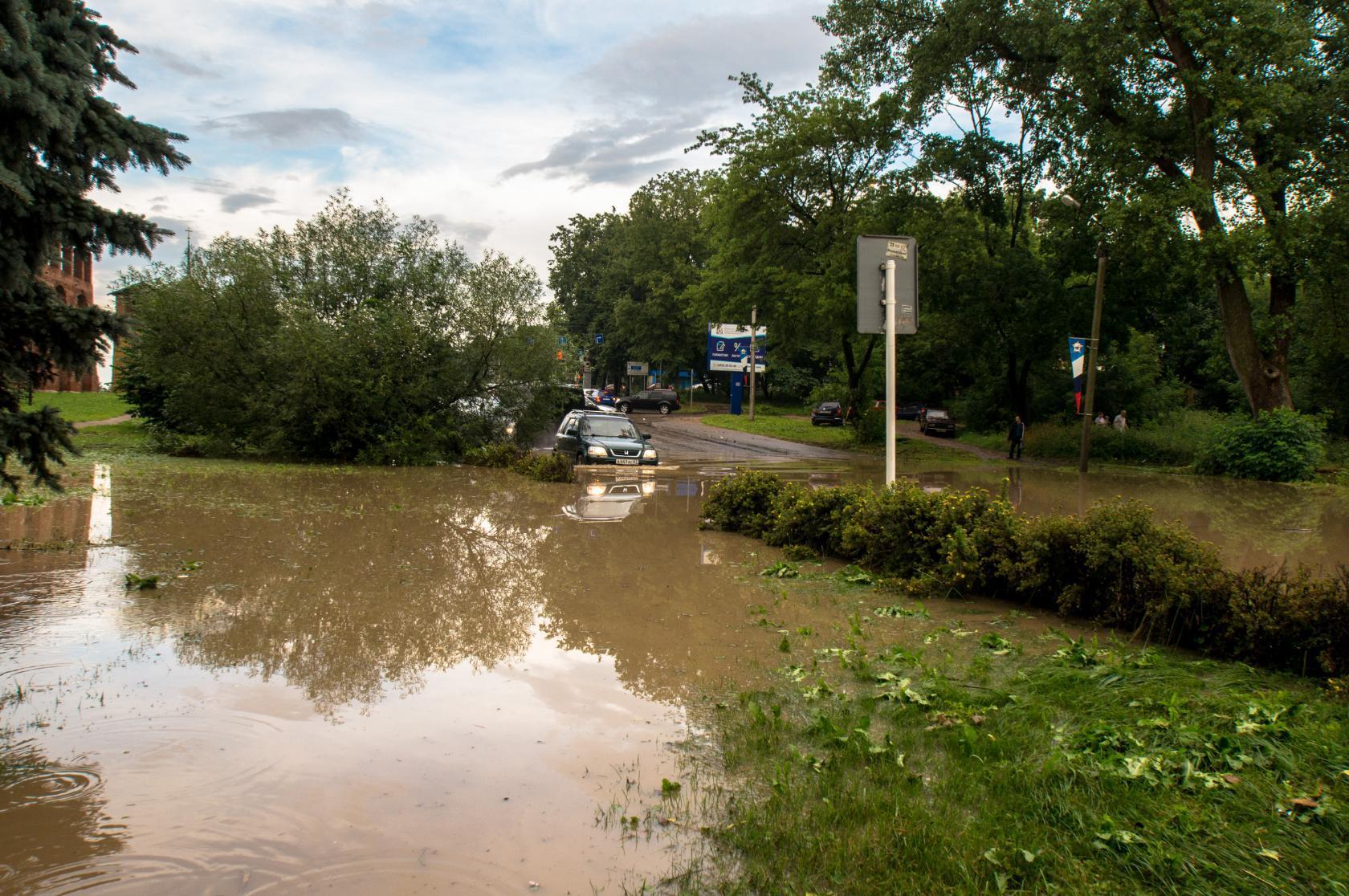 ливень Студенческая наводнение Олег Козлов