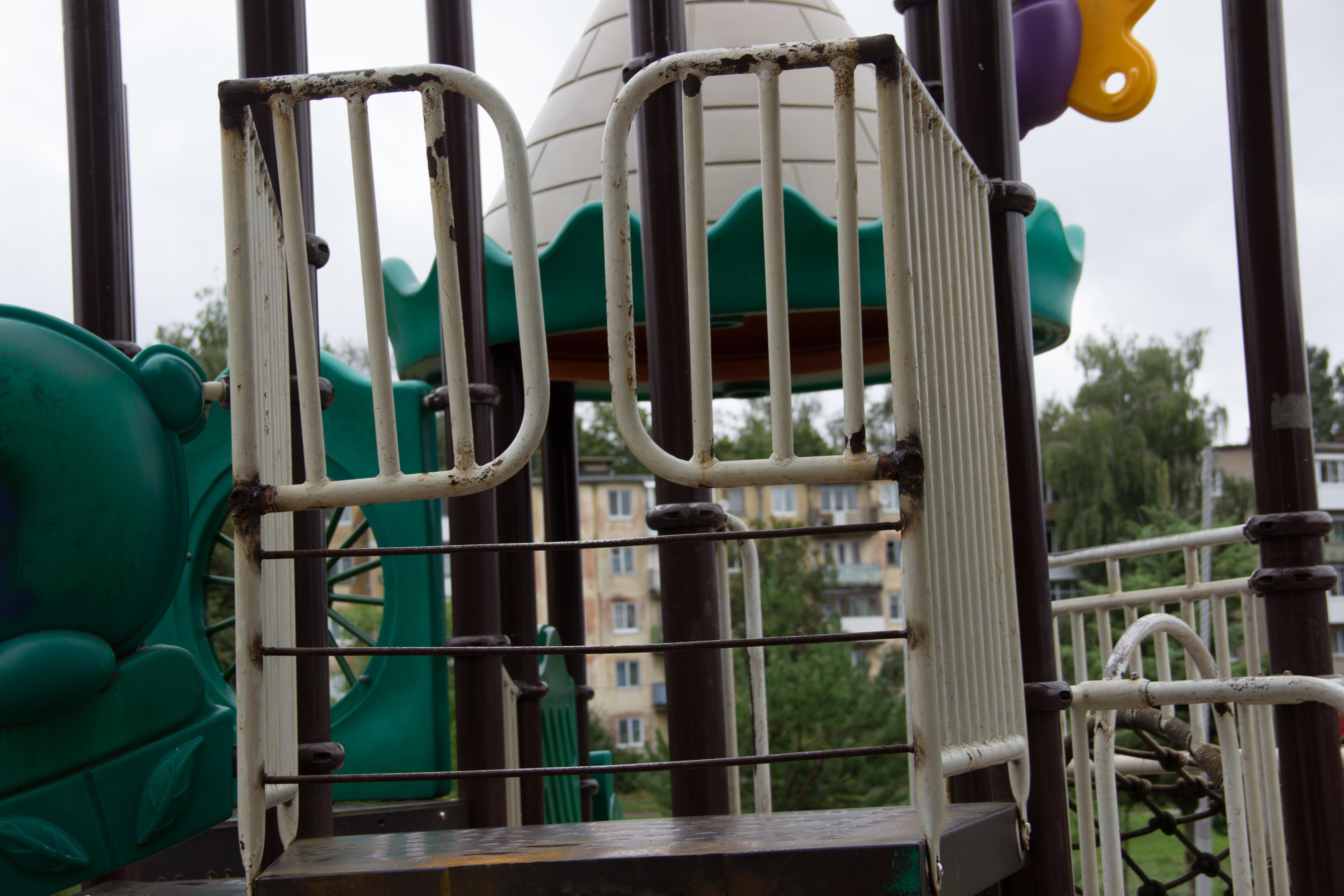 Ломоносова, детская площадка, парк 1100-летия