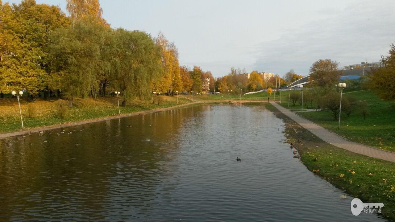 парк 1100-летия Смоленска, осень