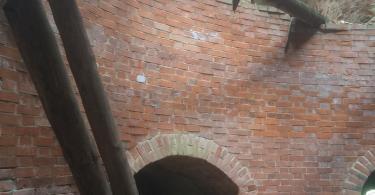смоленская крепостная стена Орел пожар