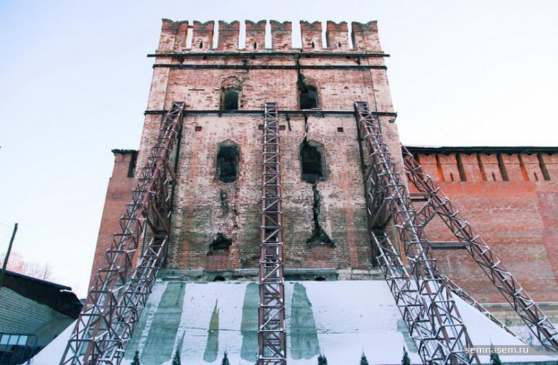 башня Волкова Смоленская крепостная стена