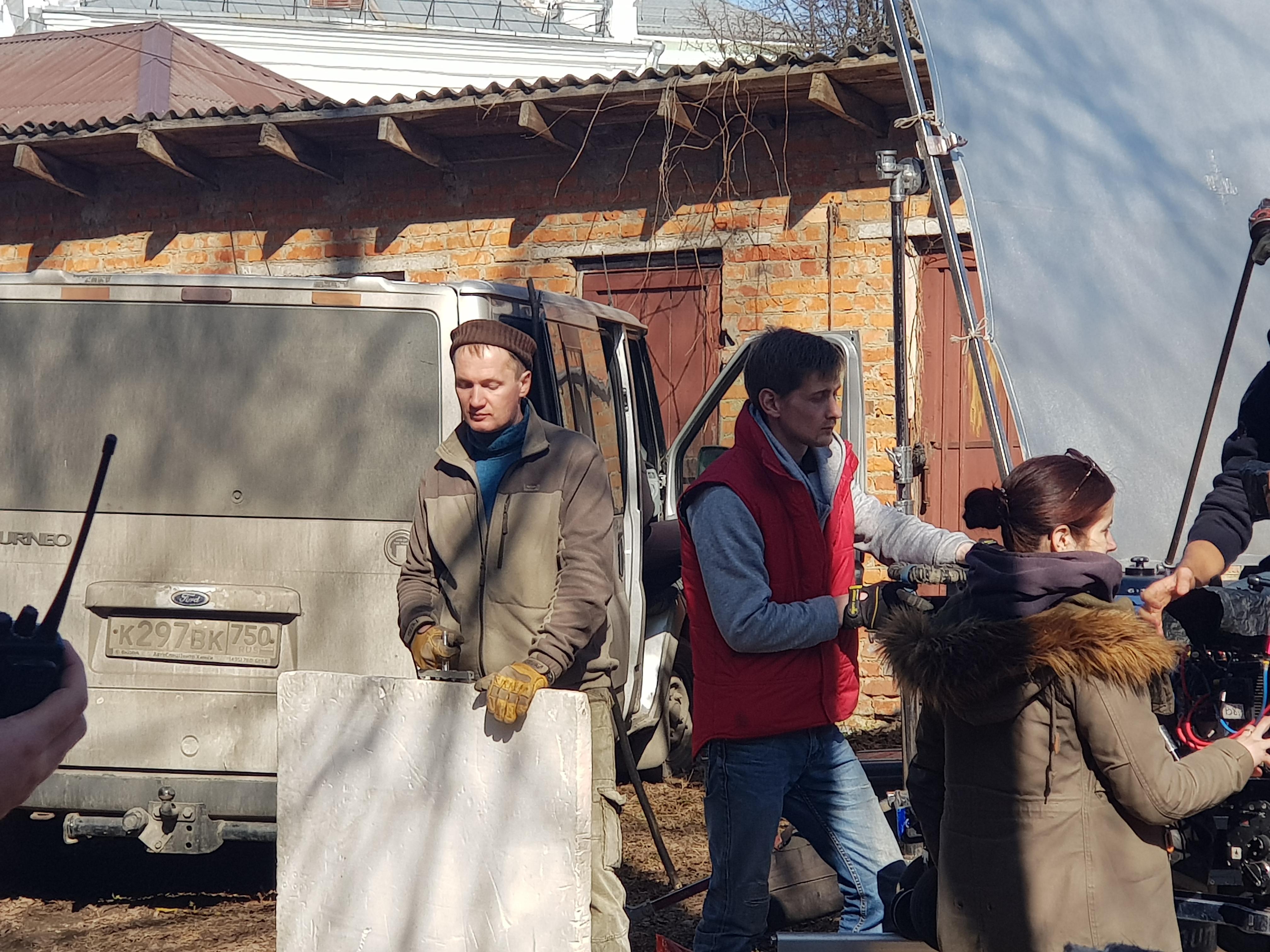 съемки сериала Хранители в Смоленске