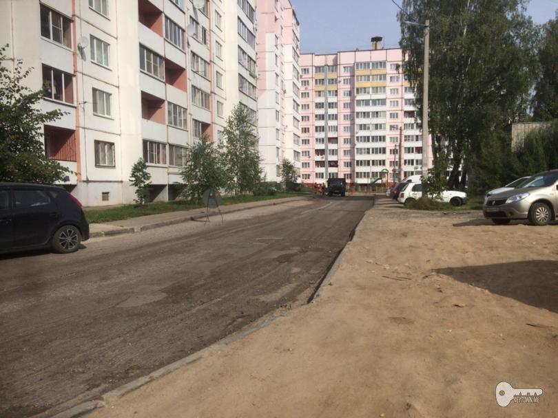 дорога на ул. Гризодубовой