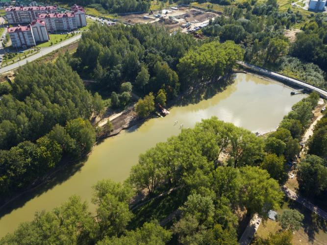 парк Соловьиная роща
