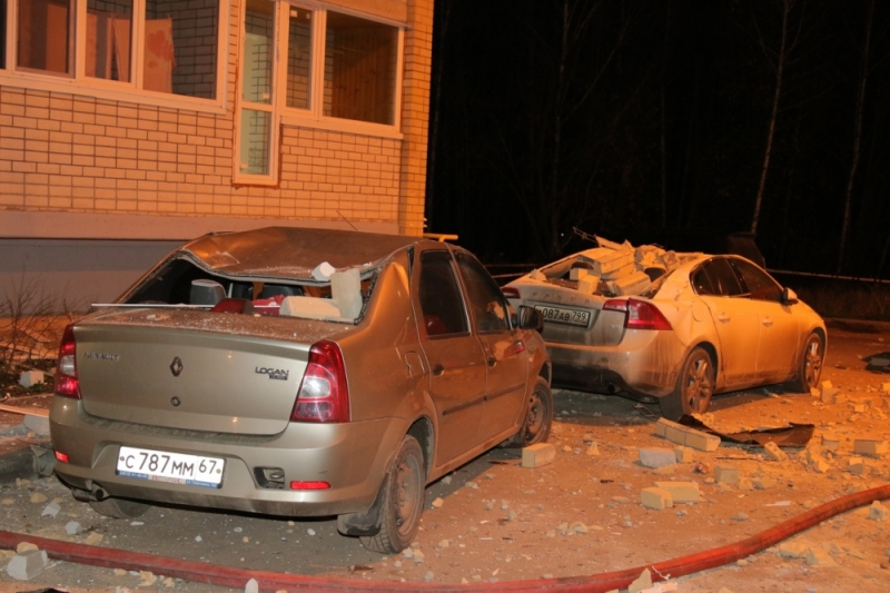 взрыв газа в Пригорском