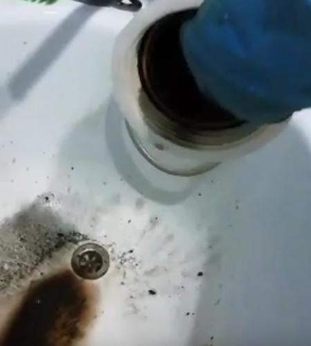 чёрная вода в Рославле