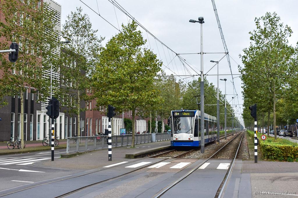 Новая улица в Амстердаме